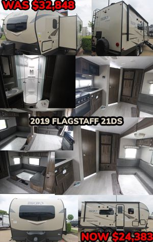 END OF THE YEAR CLEARANCE SALE!! 2019 FLAGSTAFF 21DS for Sale in Mesquite, TX
