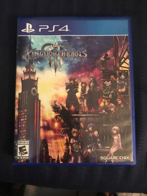 Kingdom hearts 3 (ps4) for Sale in Miami Beach, FL