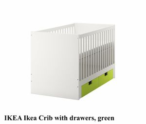 IKEA Crib Convertible with Mattress + Extras for Sale in Brooklyn, NY