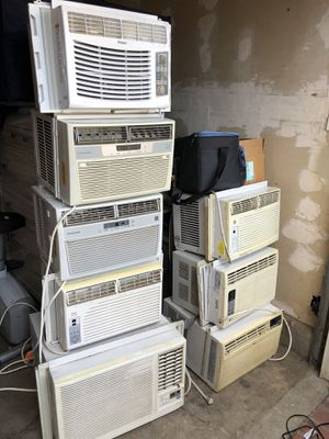 Several air conditioners 5000-8000 btu $120 each for Sale in Irwindale, CA