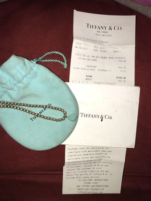 Tiffany bracelet size large for Sale in Lutherville-Timonium, MD