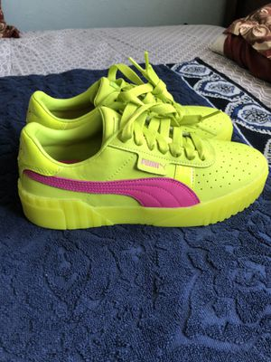 Womens Green Puma Cali 90s Shoes for Sale in San Diego, CA
