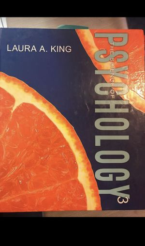 The Science of Psychology by Laura A. King for Sale in Los Angeles, CA