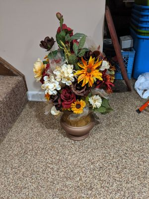 Artificial Flower Arrangements in Fall Colors for Sale in Chagrin Falls, OH