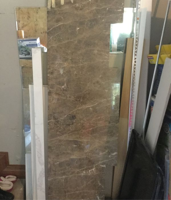 "79 "" Marble countertop"