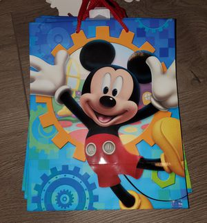 Hallmark Disney Mickey Mouse Gift Bag for Sale in San Diego, CA