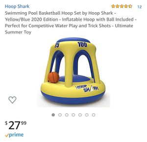 New Basketball Hoop Set for POOL FUN ! for Sale in Lakehurst, NJ