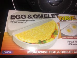 New in Box Egg and Omelette Microwave Cooker for Sale in Alexandria, VA