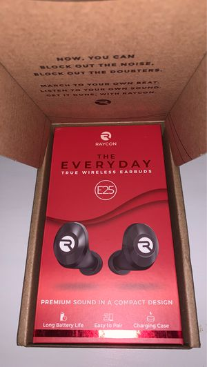 UNOPENED Raycon E25 wireless headphones for Sale in Fort Collins, CO