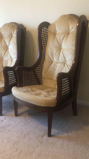 Antique wooden armchairs for Sale in Manassas, VA