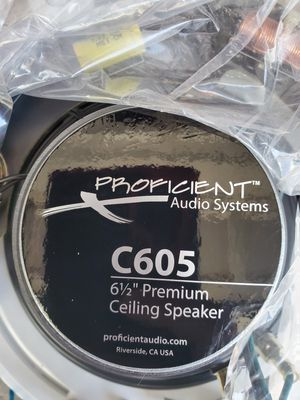 Ceiling Speaker C605 Proficient Audio Systems for Sale in Joliet, IL