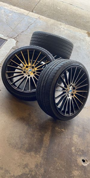 "20"" rims like new! for Sale in Oswego, IL"