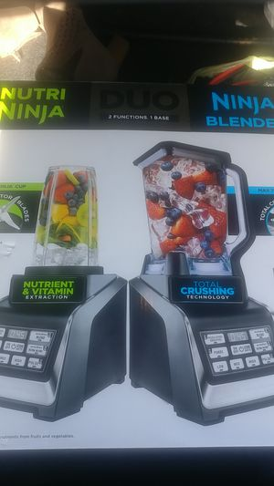 2 Piece Duo Nutri Ninja Blender for Sale in Cleveland, OH