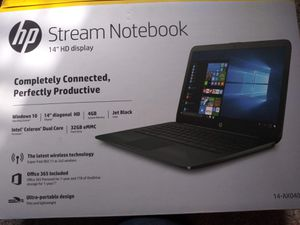 Hp stream notebook for Sale in San Antonio, TX