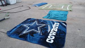 Blankets, coleman sleeping bag and many more to choose from for Sale in Forney, TX