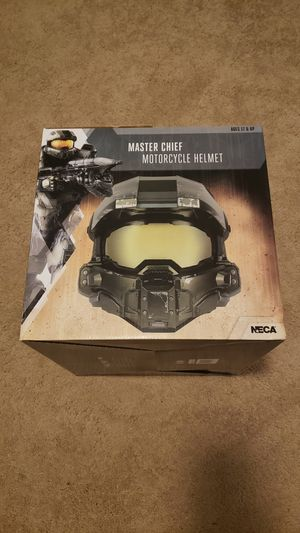 Halo Master Cheif DOT Motorcycle Helmet for Sale in Roswell, GA