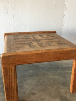Vintage Solid Wood End Table for Sale in Placentia,  CA