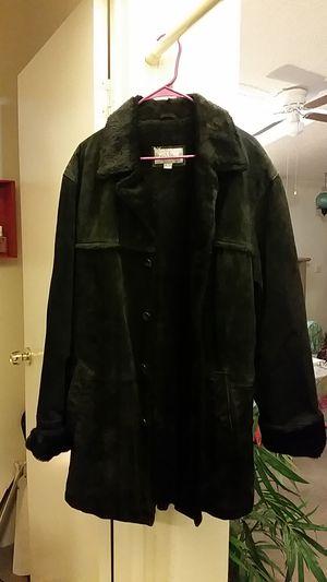 Black suede jacket for Sale in Las Vegas, NV