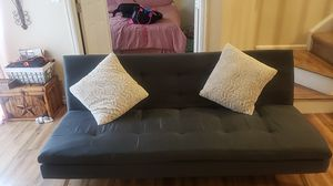 Navy blue couch/futon for Sale in Denver, CO