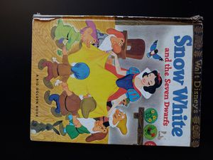 Vintage Disney's Snow White and the Seven Dwarves book for Sale in Mercer Island, WA
