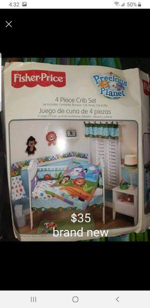 4 piece crib set for Sale in Pueblo, CO