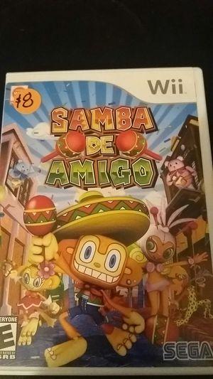 SAMBA DE AMIGO (Nintendo Wii + Wii U) for Sale in Lewisville, TX