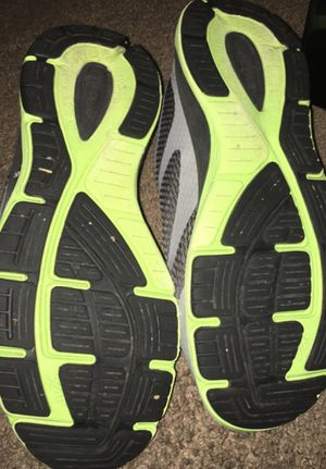 Neon green shoes for Sale in Fairfield, IA