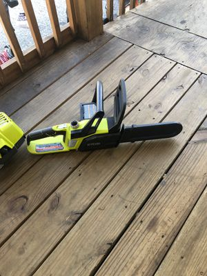 Ryobi 18v 10 in Chainsaw with Battery and Charger for Sale in Dallas, GA