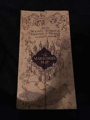 Harry Potter marauders map for Sale in Richmond Hill, GA