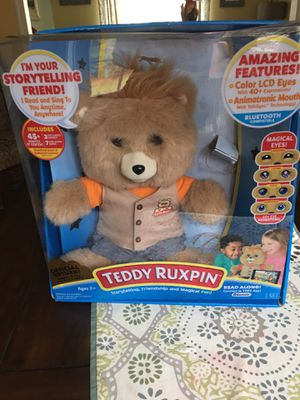 Teddy Ruxpin: Gently used in perfect condition for Sale in Woodbridge, VA