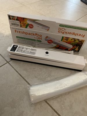 Vacuum sealer new for Sale in Lake Worth, FL