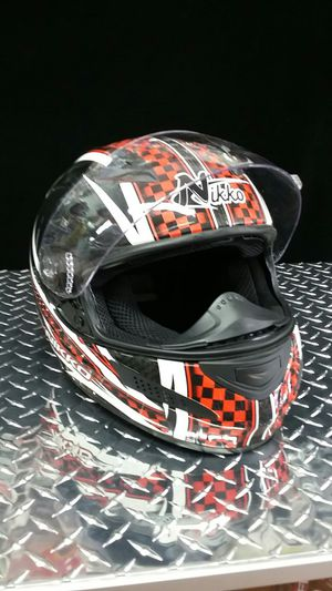 Motorcycle carbon fiber helmet size large brand new for Sale in Los Angeles, CA