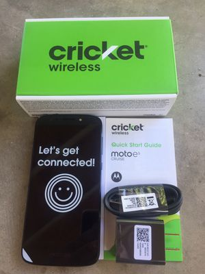 Cricket phone New (Motorola Moto e5 Cruise) Cash Only Firm Price for Sale in Glendale, AZ