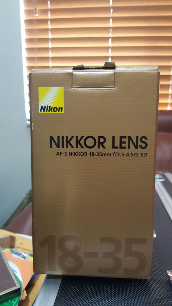 Nikon Lens 18-35 mm