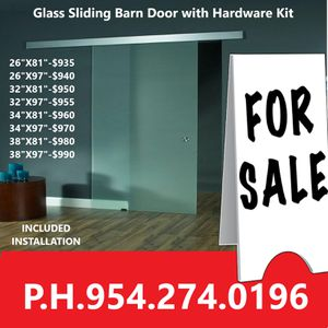 Barn glass doors for Sale in Pembroke Pines, FL