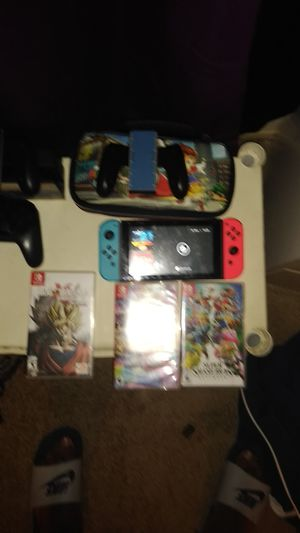 Nintendo switch bundle for Sale in Fort Worth, TX