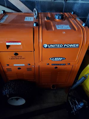 USA Power Unlimited Generator E9500 for Sale in Chesterfield, NJ