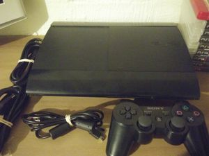 Ps3 slim with all cords and 9 games. for Sale in Gallatin, TN