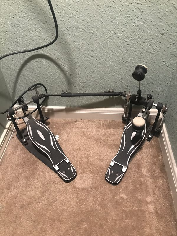Sound percussion double drum pedals