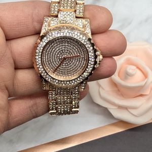 Rose Gold Crystal Watch for Sale in Los Angeles, CA