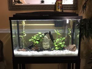 30 gallon fish tank ready for set up immediately for Sale in Port St. Lucie, FL