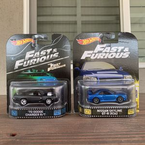 Hot Wheels Fast and Furious Movie Cars for Sale in La Mirada, CA