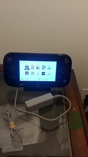Black nintendo wii u game pad for Sale in Marietta, GA