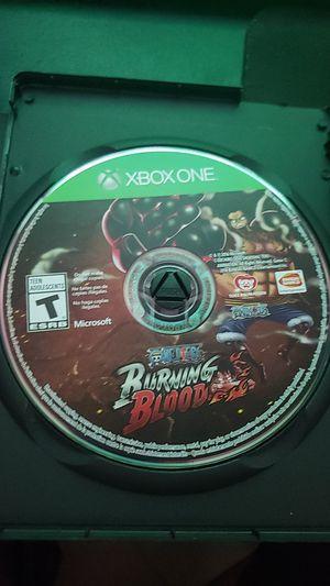 One Piece: Burning Blood Xbox One for Sale in Phoenix, AZ