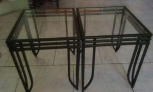 Black side coffee tables for Sale in Las Vegas, NV