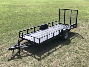 5x14 Gated Trailer for Sale in Austin, TX