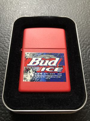 Vintage bud ice zippo for Sale in Clinton Township, MI