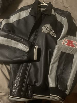 Raiders leather Jacket for Sale in Castro Valley, CA
