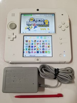 NINTENDO 2DS W/ CHARGER, STYLUS, AND 47 GAMES [READ DESCRIPTION] for Sale in Ontario, CA