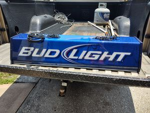 Bud Light pool light 38L x 11W x 8H for Sale in Clearwater, FL